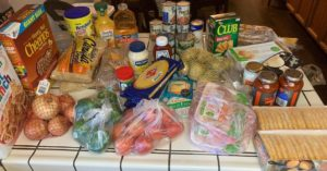 groceries for foster families
