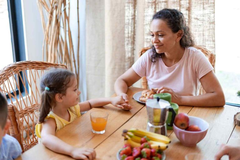 Foster mom chats with foster daughter about a problem